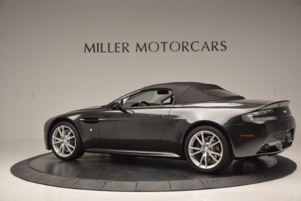 Used 2016 Aston Martin V8 Vantage S Roadster for sale Sold at Alfa Romeo of Greenwich in Greenwich CT 06830 16