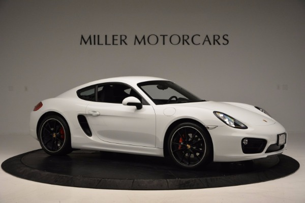 Used 2014 Porsche Cayman S for sale Sold at Alfa Romeo of Greenwich in Greenwich CT 06830 10