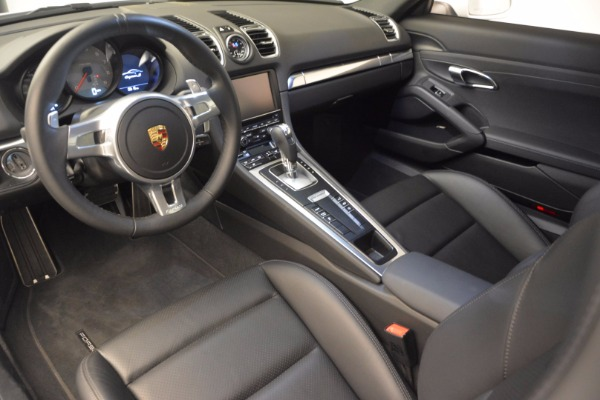 Used 2014 Porsche Cayman S for sale Sold at Alfa Romeo of Greenwich in Greenwich CT 06830 13