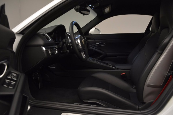 Used 2014 Porsche Cayman S for sale Sold at Alfa Romeo of Greenwich in Greenwich CT 06830 14