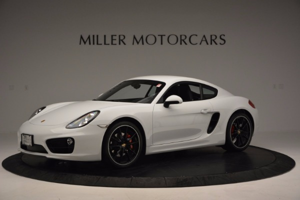 Used 2014 Porsche Cayman S for sale Sold at Alfa Romeo of Greenwich in Greenwich CT 06830 2