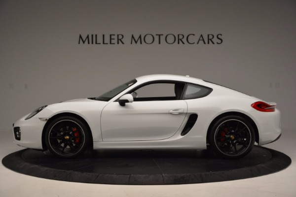Used 2014 Porsche Cayman S for sale Sold at Alfa Romeo of Greenwich in Greenwich CT 06830 3