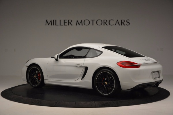 Used 2014 Porsche Cayman S for sale Sold at Alfa Romeo of Greenwich in Greenwich CT 06830 4