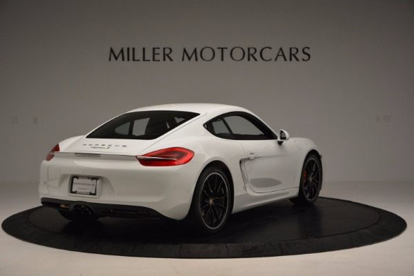 Used 2014 Porsche Cayman S for sale Sold at Alfa Romeo of Greenwich in Greenwich CT 06830 7