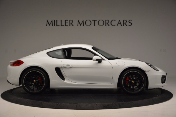 Used 2014 Porsche Cayman S for sale Sold at Alfa Romeo of Greenwich in Greenwich CT 06830 9