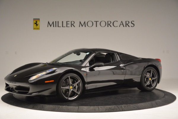 Used 2015 Ferrari 458 Spider for sale Sold at Alfa Romeo of Greenwich in Greenwich CT 06830 14
