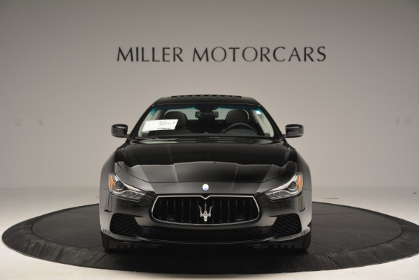Used 2016 Maserati Ghibli S Q4  EX-LOANER for sale Sold at Alfa Romeo of Greenwich in Greenwich CT 06830 12