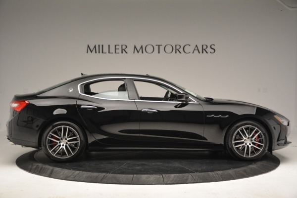 Used 2016 Maserati Ghibli S Q4  EX-LOANER for sale Sold at Alfa Romeo of Greenwich in Greenwich CT 06830 9
