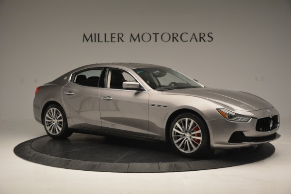 Used 2016 Maserati Ghibli S Q4  EX- LOANER for sale Sold at Alfa Romeo of Greenwich in Greenwich CT 06830 10