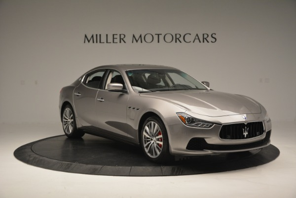 Used 2016 Maserati Ghibli S Q4  EX- LOANER for sale Sold at Alfa Romeo of Greenwich in Greenwich CT 06830 11
