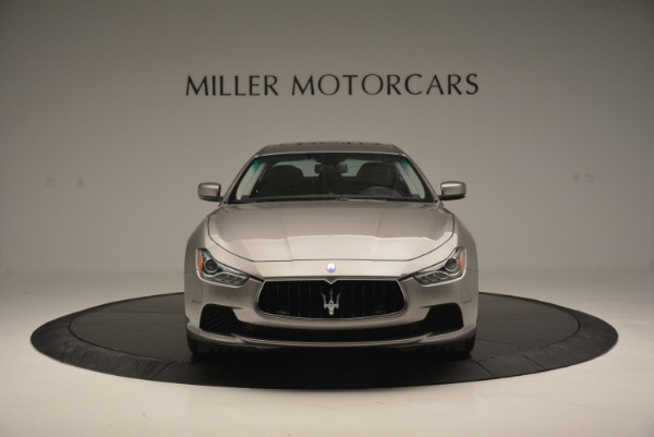 Used 2016 Maserati Ghibli S Q4  EX- LOANER for sale Sold at Alfa Romeo of Greenwich in Greenwich CT 06830 12