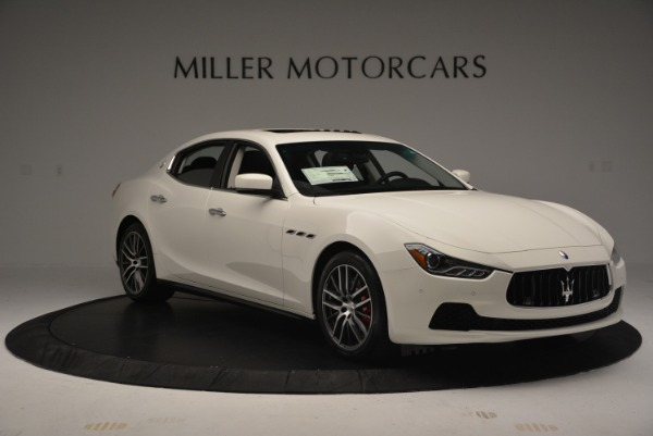 Used 2016 Maserati Ghibli S Q4  EX-LOANER for sale Sold at Alfa Romeo of Greenwich in Greenwich CT 06830 11