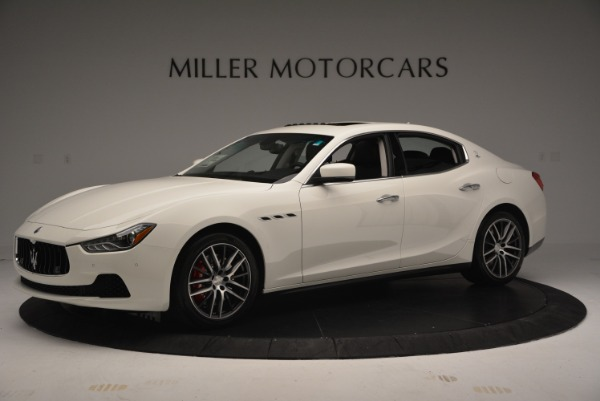 Used 2016 Maserati Ghibli S Q4  EX-LOANER for sale Sold at Alfa Romeo of Greenwich in Greenwich CT 06830 2