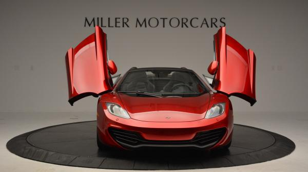 Used 2013 McLaren 12C Spider for sale Sold at Alfa Romeo of Greenwich in Greenwich CT 06830 13