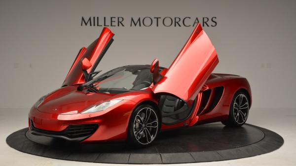 Used 2013 McLaren 12C Spider for sale Sold at Alfa Romeo of Greenwich in Greenwich CT 06830 14