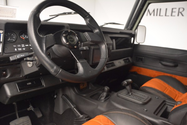 Used 1997 Land Rover Defender 90 for sale Sold at Alfa Romeo of Greenwich in Greenwich CT 06830 13