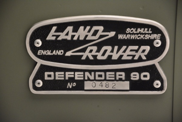 Used 1997 Land Rover Defender 90 for sale Sold at Alfa Romeo of Greenwich in Greenwich CT 06830 25