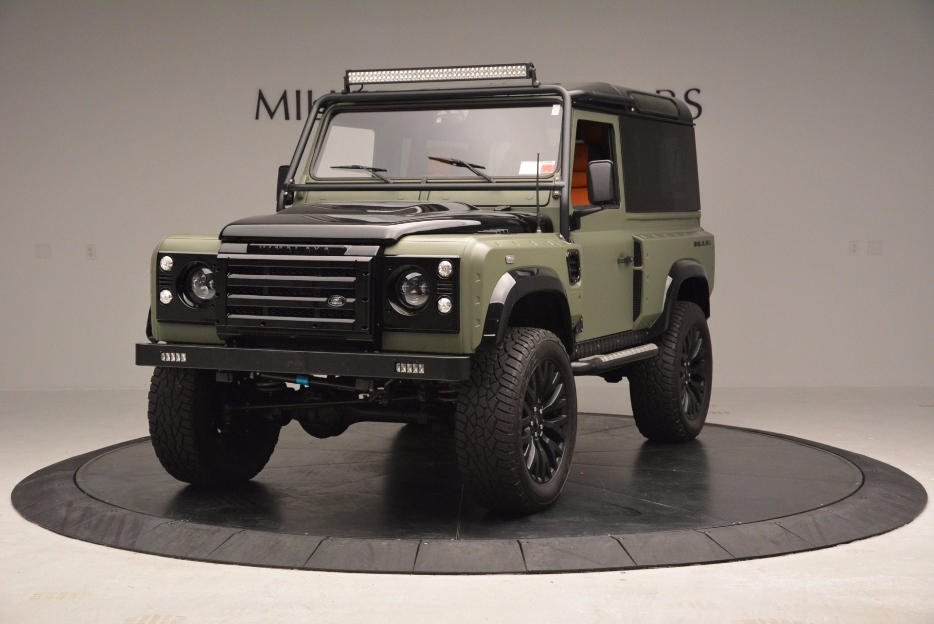 Used 1997 Land Rover Defender 90 for sale Sold at Alfa Romeo of Greenwich in Greenwich CT 06830 1
