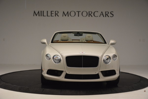 Used 2013 Bentley Continental GTC V8 for sale Sold at Alfa Romeo of Greenwich in Greenwich CT 06830 12