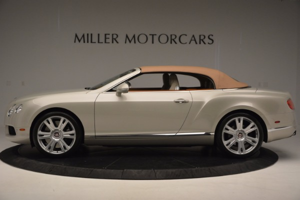 Used 2013 Bentley Continental GTC V8 for sale Sold at Alfa Romeo of Greenwich in Greenwich CT 06830 16