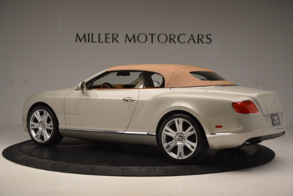 Used 2013 Bentley Continental GTC V8 for sale Sold at Alfa Romeo of Greenwich in Greenwich CT 06830 17