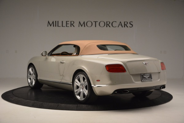 Used 2013 Bentley Continental GTC V8 for sale Sold at Alfa Romeo of Greenwich in Greenwich CT 06830 18