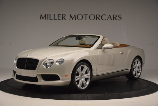 Used 2013 Bentley Continental GTC V8 for sale Sold at Alfa Romeo of Greenwich in Greenwich CT 06830 2