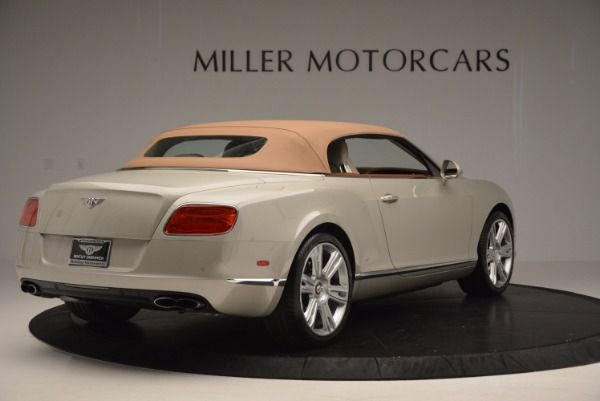 Used 2013 Bentley Continental GTC V8 for sale Sold at Alfa Romeo of Greenwich in Greenwich CT 06830 20