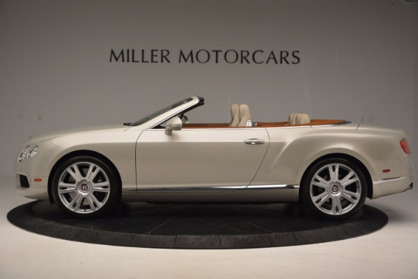 Used 2013 Bentley Continental GTC V8 for sale Sold at Alfa Romeo of Greenwich in Greenwich CT 06830 3