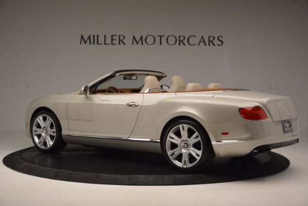 Used 2013 Bentley Continental GTC V8 for sale Sold at Alfa Romeo of Greenwich in Greenwich CT 06830 4