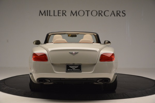 Used 2013 Bentley Continental GTC V8 for sale Sold at Alfa Romeo of Greenwich in Greenwich CT 06830 6