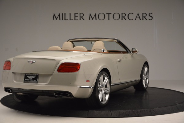 Used 2013 Bentley Continental GTC V8 for sale Sold at Alfa Romeo of Greenwich in Greenwich CT 06830 7