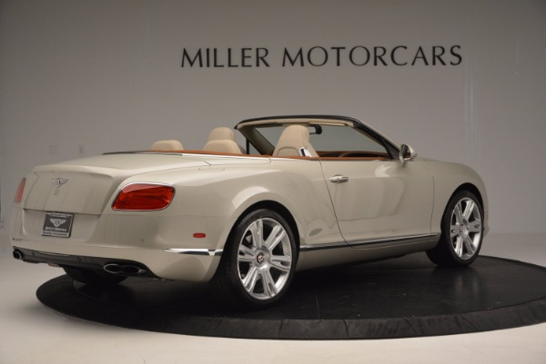 Used 2013 Bentley Continental GTC V8 for sale Sold at Alfa Romeo of Greenwich in Greenwich CT 06830 8