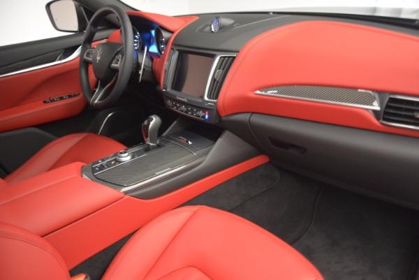 Used 2017 Maserati Levante S Q4 for sale Sold at Alfa Romeo of Greenwich in Greenwich CT 06830 20