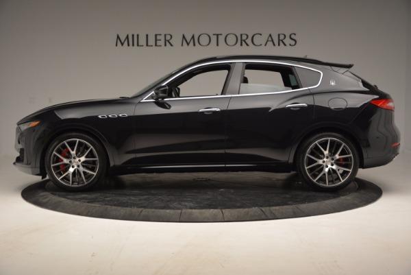 Used 2017 Maserati Levante S Q4 for sale Sold at Alfa Romeo of Greenwich in Greenwich CT 06830 3