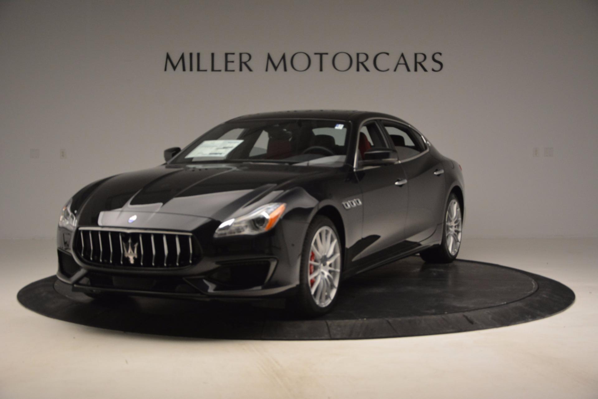 New 2017 Maserati Quattroporte S Q4 GranSport for sale Sold at Alfa Romeo of Greenwich in Greenwich CT 06830 1