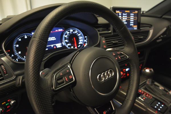Used 2014 Audi RS 7 4.0T quattro Prestige for sale Sold at Alfa Romeo of Greenwich in Greenwich CT 06830 18