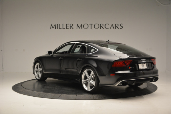 Used 2014 Audi RS 7 4.0T quattro Prestige for sale Sold at Alfa Romeo of Greenwich in Greenwich CT 06830 5