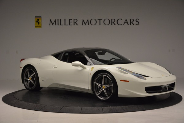 Used 2012 Ferrari 458 Italia for sale Sold at Alfa Romeo of Greenwich in Greenwich CT 06830 10