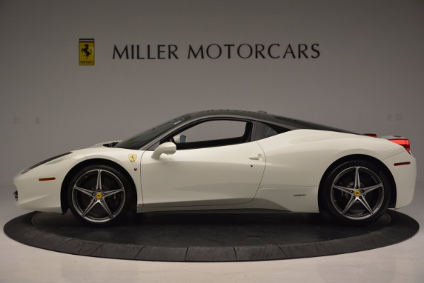 Used 2012 Ferrari 458 Italia for sale Sold at Alfa Romeo of Greenwich in Greenwich CT 06830 3