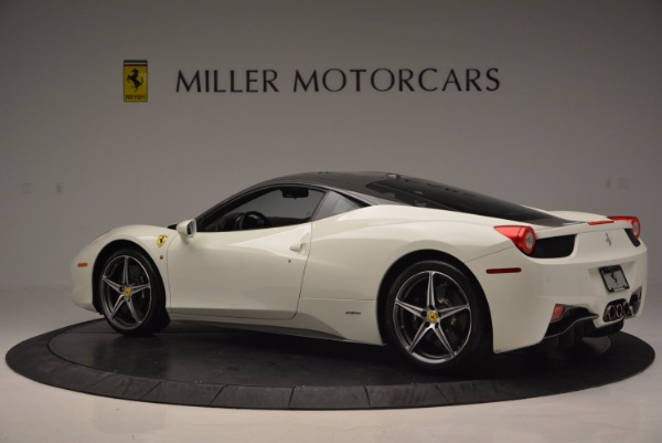 Used 2012 Ferrari 458 Italia for sale Sold at Alfa Romeo of Greenwich in Greenwich CT 06830 4