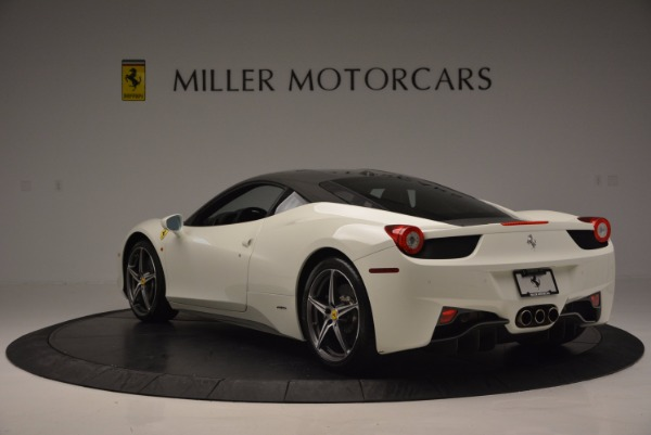 Used 2012 Ferrari 458 Italia for sale Sold at Alfa Romeo of Greenwich in Greenwich CT 06830 5