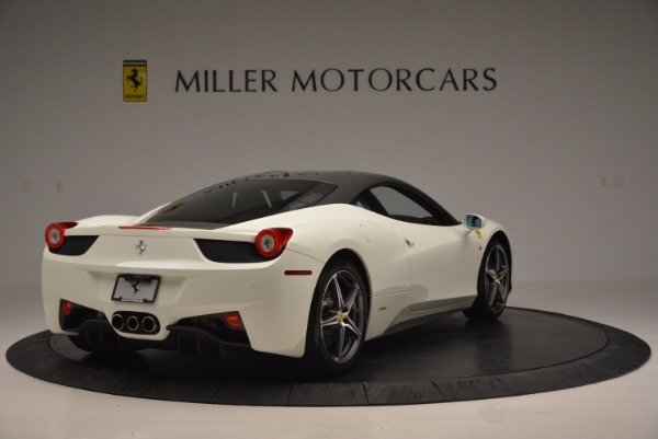 Used 2012 Ferrari 458 Italia for sale Sold at Alfa Romeo of Greenwich in Greenwich CT 06830 7