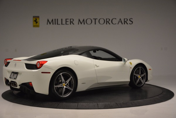 Used 2012 Ferrari 458 Italia for sale Sold at Alfa Romeo of Greenwich in Greenwich CT 06830 8