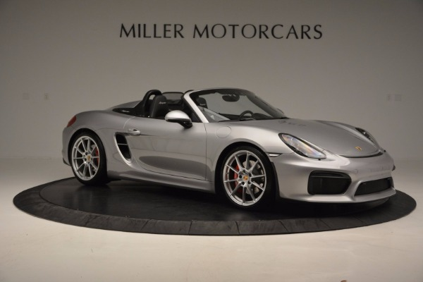 Used 2016 Porsche Boxster Spyder for sale Sold at Alfa Romeo of Greenwich in Greenwich CT 06830 10