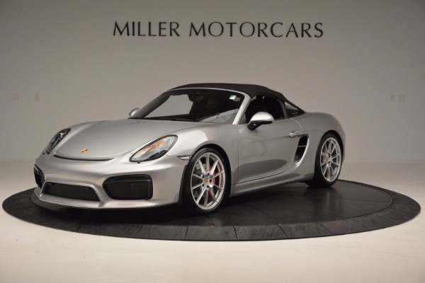 Used 2016 Porsche Boxster Spyder for sale Sold at Alfa Romeo of Greenwich in Greenwich CT 06830 13