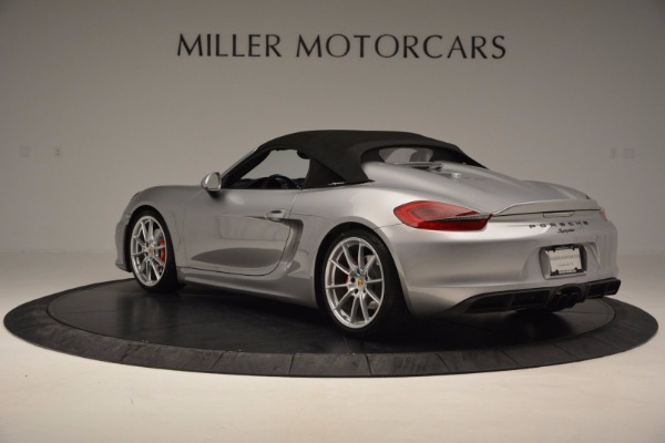 Used 2016 Porsche Boxster Spyder for sale Sold at Alfa Romeo of Greenwich in Greenwich CT 06830 15