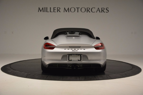 Used 2016 Porsche Boxster Spyder for sale Sold at Alfa Romeo of Greenwich in Greenwich CT 06830 16