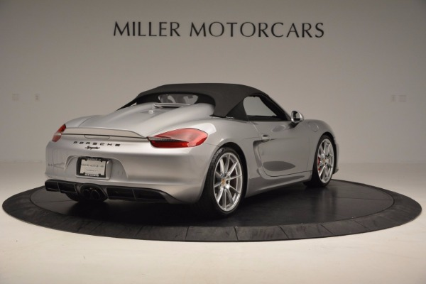 Used 2016 Porsche Boxster Spyder for sale Sold at Alfa Romeo of Greenwich in Greenwich CT 06830 17