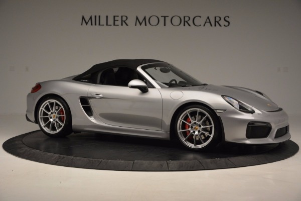 Used 2016 Porsche Boxster Spyder for sale Sold at Alfa Romeo of Greenwich in Greenwich CT 06830 19
